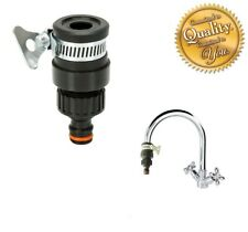 """Universal Tap Connector For 1"""" TAPS Adapter Mixer Kitchen Garden Hose Fitting"""