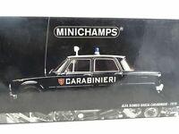"""1:18 Minichamps - 1970 Alfa Romeo Giulia Carabinieri """" con #35 Eine Rarità"""