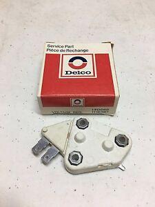 GM Original AC Delco Voltage Regulator D668