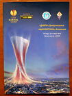 Program Dnipro Ukraine AC Fiorentina Italy 2013/2014 Europa League