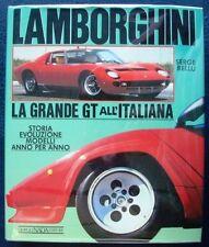 LAMBORGHINI LA GRANDE GT ALL' ITALIANA 1988 CAR BOOK ITALIAN SERGE BELLU
