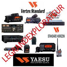 Yaesu Vertex  Standard Horizon  Operation Repair Service manual    630 on DVD