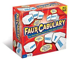 Faux-Cabulary Outrageous Family Word Game Of Wild New Words From Out Of The Box