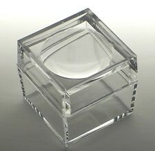 Acrylic Box with 3X Magnifier Cover Bug Box Set of 50