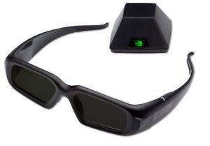 3D Vision Pro (RF), 1 NEW 3DVIZPRO-E Glasses, ONE NEW Emitter 100 Ft(30M) range