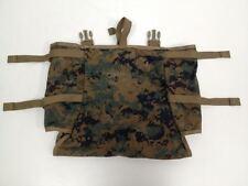 USMC MARINE ILBE MARPAT MAIN PACK RADIO POUCH UTILITY POUCH GEN 2 TAN EXCELLENT