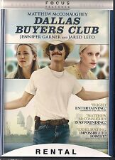 DALLAS BUYERS CLUB (DVD, 2014) RENTAL EXCLUSIVE
