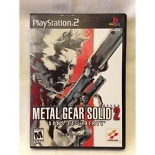 """Metal Gear Solid 2 """"Sons Of Liberty"""" Sony Playstation 2 PS2 US"""