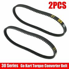 2Pcs 30 Series Go Kart Torque Converter Belts Fit for Comet Murray Stens Rotary
