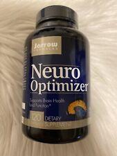 Jarrow Formulas Neuro Optimizer Supports Brain Health & Function 120 Cap 6/2021+