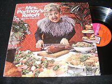 Strange Salami Covr LP MRS. PORTNOY'S RETORT Mae Questel Jewish Humor Betty Boop