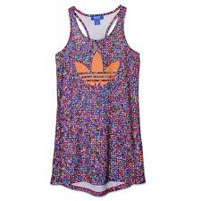 Adidas Originals ZX Flux tanque vestido Trefoil verano playa camiseta 32