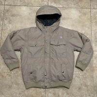 The North Face Hyvent Goose Down Boys XL Jacket Sand beige YOUTH rare