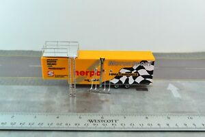 Herpa Motor Sport Trailer w/ Roof Stand for Tractor Trucks 1:87 HO Scale (HO664)