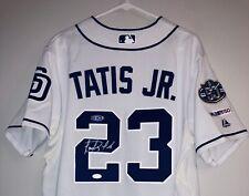 Fernando Tatis Jr. Signed San Diego Padres Autographed Majestic MLB Jersey JSA