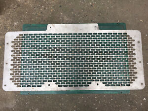 Land Rover Defender 90 / 110 front grill stainless steel