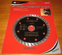 "ATE Pro 40260 4"" Wet Dry Turbo Diamond Grinder Blade - New Sealed"