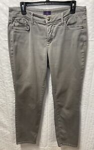 NYDJ Women's Gray Legging Jeans Size 10