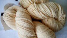 20%Merino Wool 80%Acrylic Bulky Yarn Ivory Lot 2sks 200g(7oz)-200m Russia