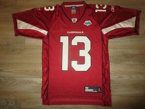 Kurt Warner #13 Arizona Cardinals Super Bowl 43 Reebok NFL Jersey SM Small mens
