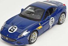 Ferrari California T azul the Sunoco 1/18 Burago