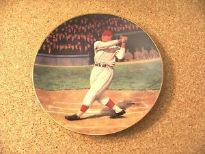 Bradford Exchange 7th plate in Series Jimmie Foxx The Beast Athletics Red Sox