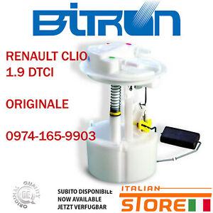 RENAULT CLIO II 1.9 DTI POMPA GASOLIO SERBATOIO  0974-165-9903 8200128477 71182