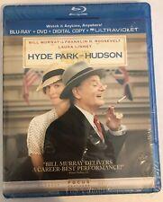 HYDE PARK ON HUDSON New Sealed Blu-ray + DVD + Digital Bill Murray Laura Linney