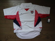 USA America 100% Authentic Double Layer Player Issue Soccer Jersey L NWT 2002-03