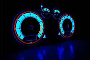 Seat Leon/Toledo '99-'05 Design 2 glow gauge plasma dials tachoscheibe glow shif