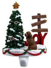 Bloodhound Stocking Holder Hanger
