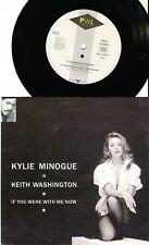 KYLIE MINOGUE KEITH WASHINGTON 45 TOURS GERMANY IF YOU