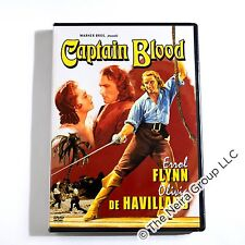 Captain Blood DVD New Errol Flynn Olivia de Havilland Basil Rathbone