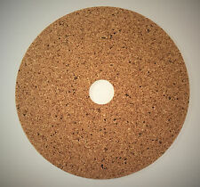 Thorens Cork Turntable Mat (FLAT) for TD 125, 145, 150, 160, 165, and 166.