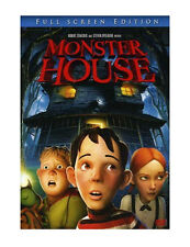 Monster House ~ LIKE NEW! (DVD, 2006, Fullscreen) Family Fun Movie