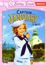 Captain January (1936) - Shirley Temple, Guy Kibbe - DVD NEW
