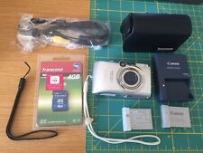 Canon IXUS 970 IS (2 Batteries, New 4GB SD, Camera Pouch, Korean Guide Included)