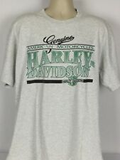 Harley Davidson Cayman Islands XL Graphic Tee Shirt Genuine American Motorcycles