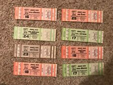 Lot of (8) 1978-1978 New Jersey Aces Minor League Hockey UNUSED TICKETS