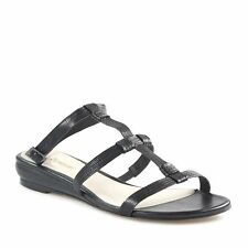 Flat (0 to 1/2 in.) Leather Beach Solid Shoes for Women