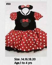 ♛ Shop8 :  MINNIE MOUSE Costume  Girls Wear 1 to 4 years old