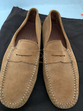 MENS TODS GOMMINO TAN SUEDE DRIVING SHOES - 7UK/41EU