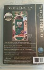 Dimensions Gold Collection Petites Counted Cross Stitch Kit Tuscan Welcome