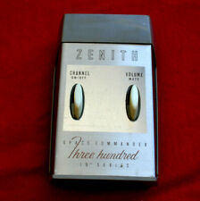 """ZENITH TWO BUTTON T.V CONTROL SPACE COMMANDER 300 * 19"""" SERIES * vg cond"""