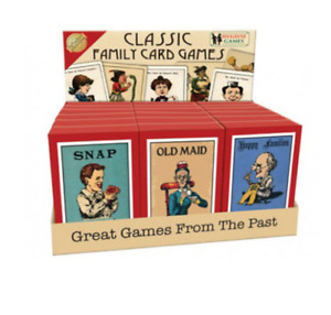 Bygone Card Games - Snap - Old Maid - Happy Families