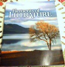 Elements of Literature Student Text Paperback BJU Press Grade 10 High School
