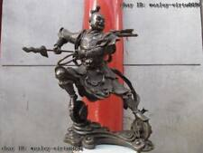 Chinese classical mythological pure bronze copper immortal Nezha buddha Statue