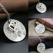 Jewelry Gift a Grandmother and Granddaughter Family Best Love Pendant Necklace