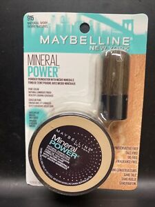 Maybelline New York Mineral Power Powder Foundation 915 Natural Ivory Light 3