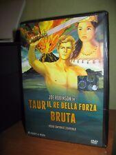 PEPLUM TAUR IL RE DELLA FORZA BRUTA DVD NUOVO SIGILLATO JOE ROBINSON
